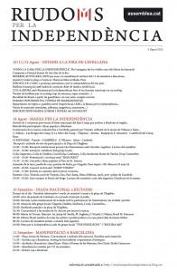 Actes Agost/Setembre